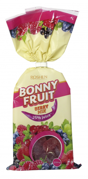 Roshen Bonny Fruit - Berry mix 200g
