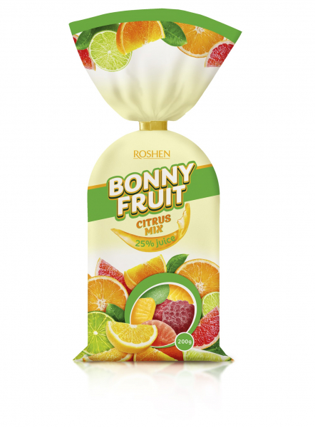 Roshen Bonny Fruit- Citrus mix 200g